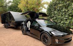 Klasse C5 Wohnwagen mit elektro Auto